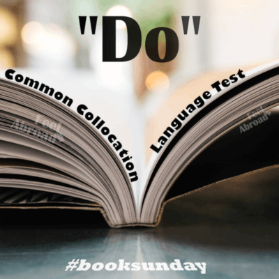 """Do"" – Common collocation"