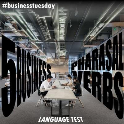 5 Business Phrasal Verbs