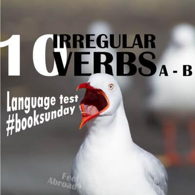 10 IRREGULAR VERBS (a – b)