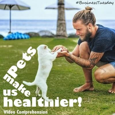 Pets make us healthier!