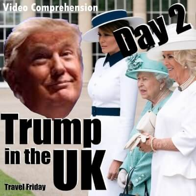 Trump in the UK – Day 2