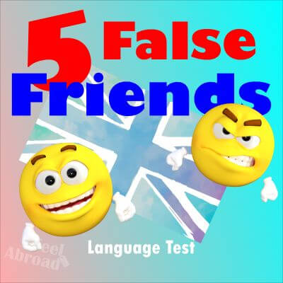 5 false friends