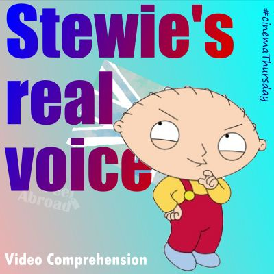 Stewie's real voice