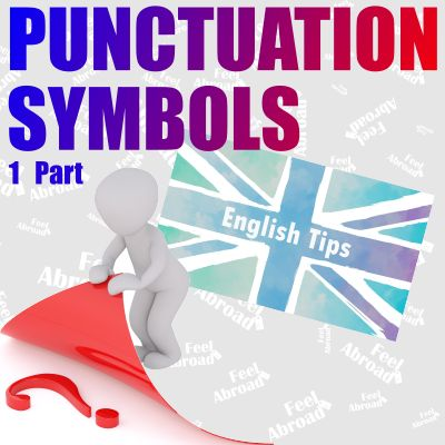 Punctuation symbols – 1st part