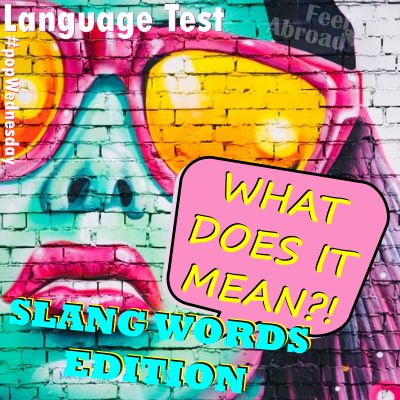 What does it mean? – Slang Words Edition