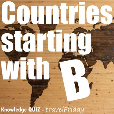 Countries starting with B