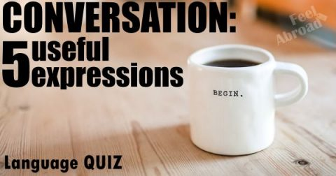 Conversation: 5 useful expressions