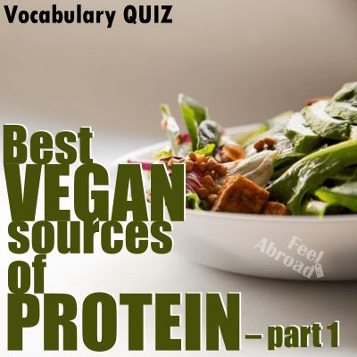 Best vegan sources of protein – PART 1