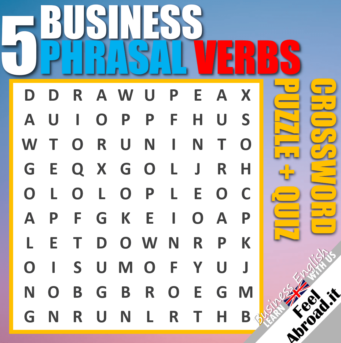 5 Business English Phrasal Verbs